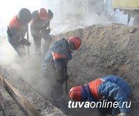 Кызыл: Энерговоровство привело к повреждению на кабеле. В 40-градусные морозы ведутся ремонтные работы