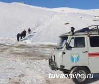 """Кызыл: расчищена дорога к месту проведения обряда """"Сан салыр"""" на горе Догээ"""