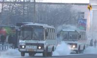 Мэрия Кызыла сообщает о работе городского транспорта в дни Шагаа