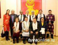 Накануне Шагаа встреча с Почетными гражданами Кызыла за чаем с молоком