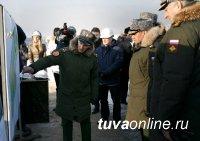 Сергей Шойгу приехал в Кызыл