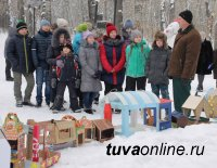 50 новых кормушек для птиц появилось в Национальном парке Тувы в канун Шагаа