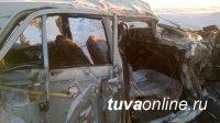 В Туве задержан водитель, по вине которого в ДТП пострадали трое детей