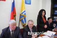 Сенатор Оксана Белоконь провела рабочие встречи в Кызыле