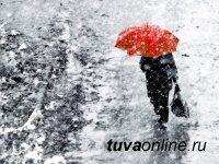 В Туве ожидается сильный мокрый снег