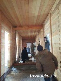 На территории мараловодческого хозяйства Тувы активно идут строительные работы