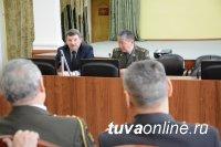 Министр МВД Тувы встретился с ветеранами, работавшими на руководящих должностях
