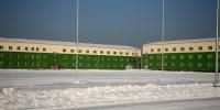 Пять объектов военного городка готовят к сдаче в эксплуатацию спецстроевцы в Кызыле