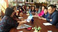 Министр труда Людмила Тас-оол встретилась с участниками проекта «Корова-кормилица» Овюрского района