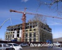 Глава Тувы проверил стройку элитного гостиничного комплекса
