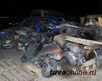 В Тоджинском районе несовершеннолетний мотоциклист совершил ДТП, один человек погиб