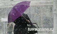 В Туву придут осадки и сильный ветер