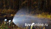 Непотушенный костёр привёл к лесному пожару в Тоджинском районе Тувы
