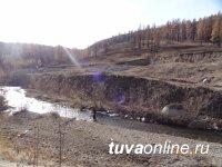 Тарданголд и местные жители очистили речку Бай-Сют