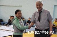 В Кызыле прошли соревнования по настольному теннису, посвященные 71-й годовщине Победы