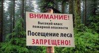 На территории шести районов Тувы ожидается высокая пожароопасность