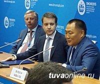 Шолбан Кара-оол предложил Николаю Никифорову проложить ВОЛС в труднодоступный Тоджинский район Тувы
