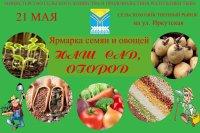 Кызыл: Сельхозярмарка на ул. Иркутской для сада, огорода