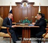 Президент России дал «добро» Шолбану Кара-оолу на досрочные выборы