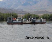 В Тоджинском кожууне Тувы открыта паромная переправа через реку Большой Енисей