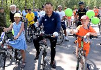 В Кызыле появятся первые велопарковки