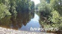 В Кызыле вода в реке  Енисей  прибывает