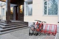 В Кызыле расширяется сеть велопарковок