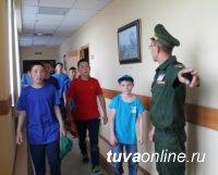 Юнармейцы из районов Тувы получили возможность познакомиться с жизнью кадетов