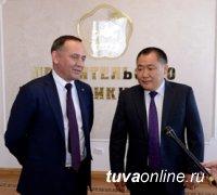 Правительство Тувы и Сибирский банк Сбербанка России подписали соглашение о сотрудничестве