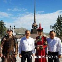 Президент Татарстана Рустам Минниханов делится своими впечатлениями о Туве на странице в Instagram