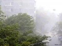 В Кызыле продолжаются работы по устранению последствий бури, прошедшей 2 июля