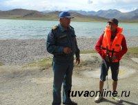 Пляж на территории детского оздоровительного лагеря «Ак-Холь» в Монгун-Тайгинском районе не допущен к эксплуатации
