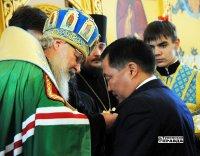 Патриарх Кирилл поздравил Шолбана Кара-оола с юбилеем