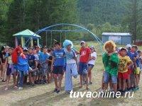 Детские лагеря отдыха на озере Чагытай соревновались в «Векторе развития»
