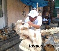 В Туве в воскресенье завершится Первый межрегиональный симпозиум по резьбе по дереву