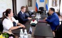 Глава Тувы встретился с руководителем Федерального казначейства