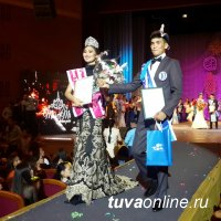 Выступивший в конце конкурса «Мисс и Мистер Альма-Матер» Мерген Ооржак предложил зрителям небольшую физразминку