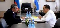 В Туву с рабочим визитом прибыл полпред Президента РФ в СФО Сергей Меняйло