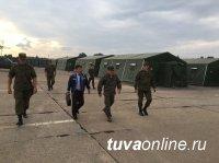 Глава Тувы побывал в Юрге, где встретился с земляками, которые проходят военную службу