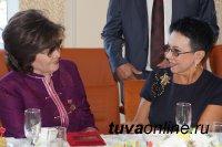 Встреча с Почетными гражданами Кызыла в День города