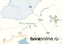 В Туве за сутки произошло два землетрясения