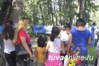 В  День  города Кызыла в праздничном шествии  приняли экологи Тувы