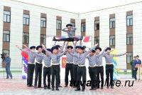К учебе в Кызылском Президентском кадетском училище 1 сентября приступили 239 учащихся
