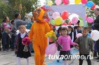 В Ак-Довураке 263 первоклассника прошли 1-го сентября в Марше первоклассников