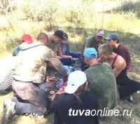 Студенты ТувГУ в составе поискового отряда в Волгоградской области нашли захоронения участников Сталинградской битвы