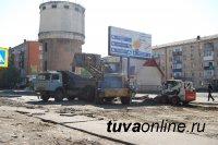 Кызыл: улица Межмикрорайонная после реконструкции станет 4-полосной