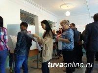 В Туве на 10 часов явка избирателей приблизилась к 20%