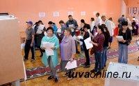 В Туве к 12 часам дня проголосовало 36,35 % избирателей