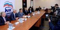 Шолбан Кара-оол рассказал о приоритетах власти на пресс-конференции в исполкоме «Единой России»