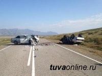 В результате ДТП в Улуг-Хемском районе пострадали пять человек